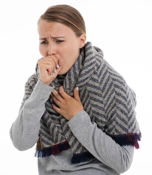 سرطان الرئة - القحة